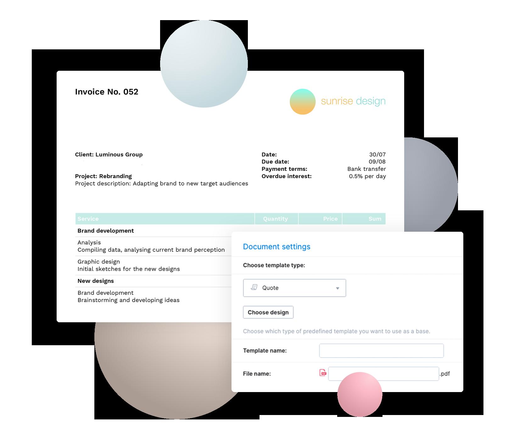 Customization Screenshot Visual