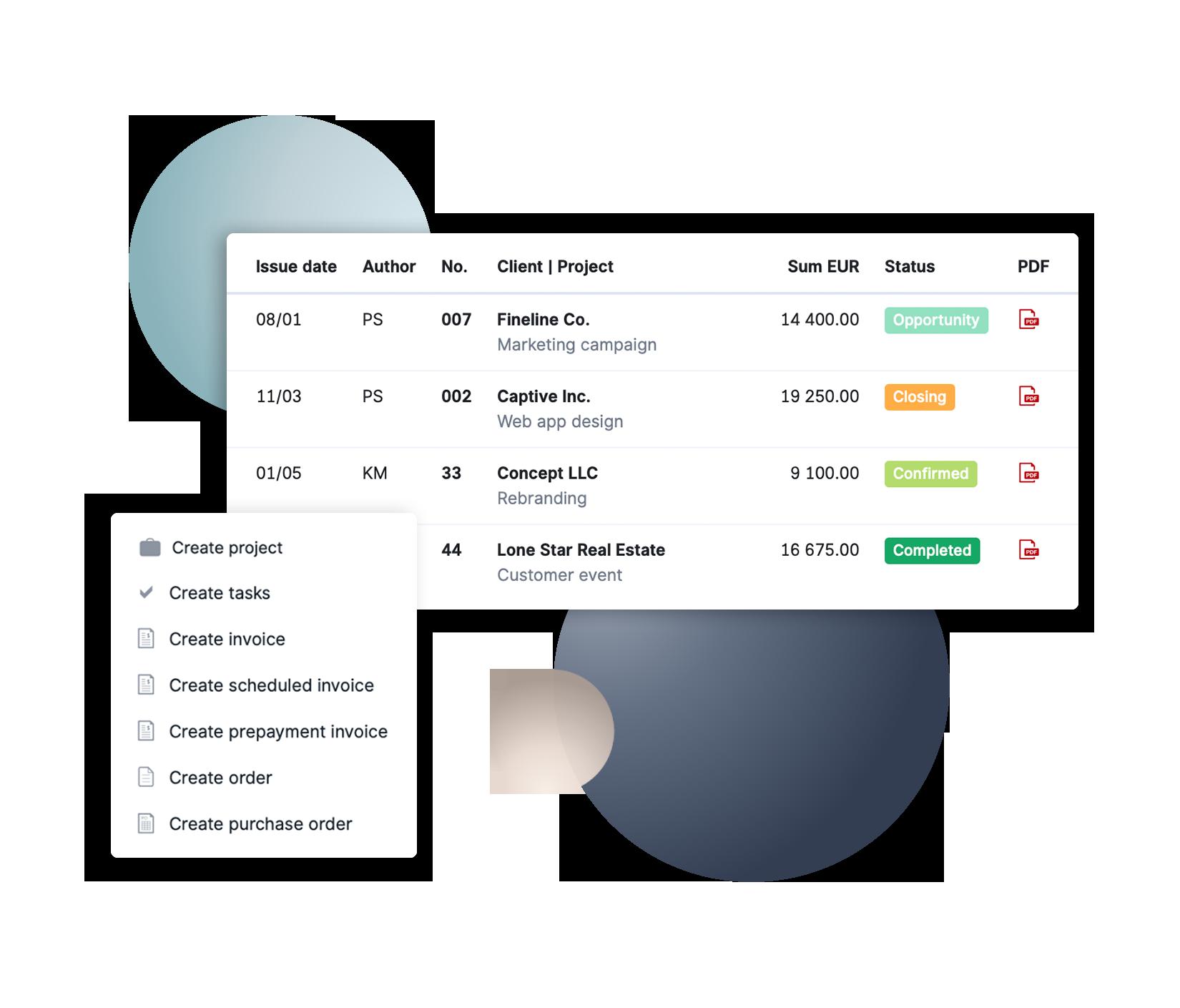 Finance Screenshot Visual